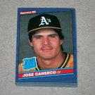 1986 DONRUSS BASEBALL - Oakland Athletics Team Set
