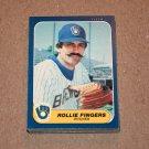 1986 FLEER BASEBALL - Milwaukee Brewers Team Set + Update Series