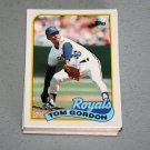 1989 TOPPS BASEBALL - Kansas City Royals Team Set + Traded Series