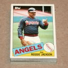 1985 TOPPS BASEBALL - California Angels Team Set + Traded Series