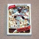 1980 TOPPS BASEBALL - Baltimore Orioles Team Set
