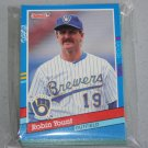 1991 DONRUSS BASEBALL - Milwaukee Brewers Team Set