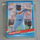1991 DONRUSS BASEBALL - Kansas City Royals Team Set