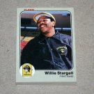 1983 FLEER BASEBALL - Pittsburgh Pirates Team Set