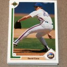 1991 UPPER DECK BASEBALL - New York Mets True Team Set (Low/High/Final)