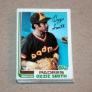 1982 TOPPS BASEBALL - San Diego Padres Team Set + Traded Series