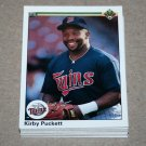 1990 UPPER DECK BASEBALL - Minnesota Twins Team Set + High Number Series