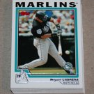2004 TOPPS BASEBALL - Florida Marlins Team Set (Series 1 & 2)