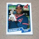 1990 FLEER BASEBALL - Cleveland Indians Team Set + Update Series