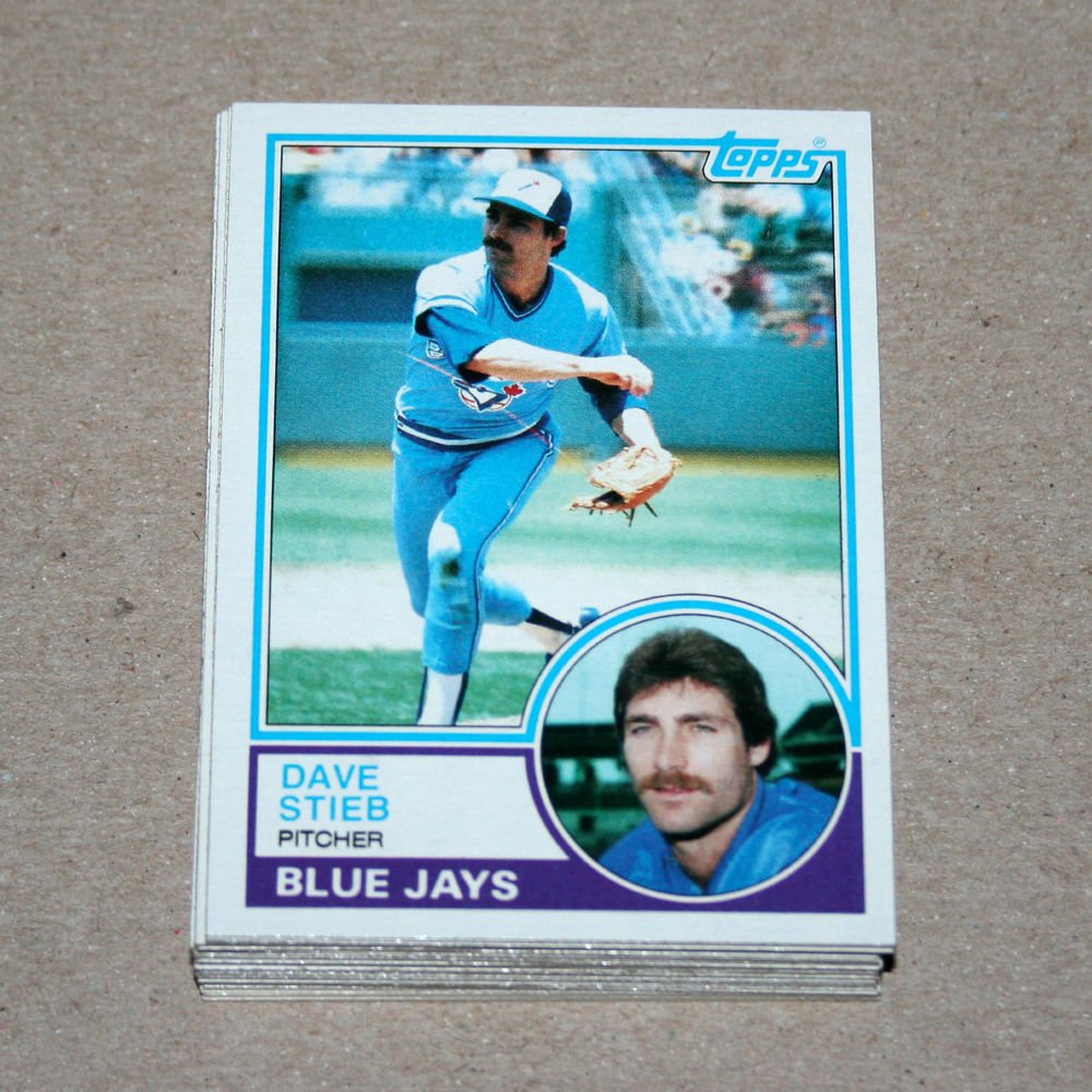 1983 TOPPS BASEBALL - Toronto Blue Jays Team Set + Traded Series