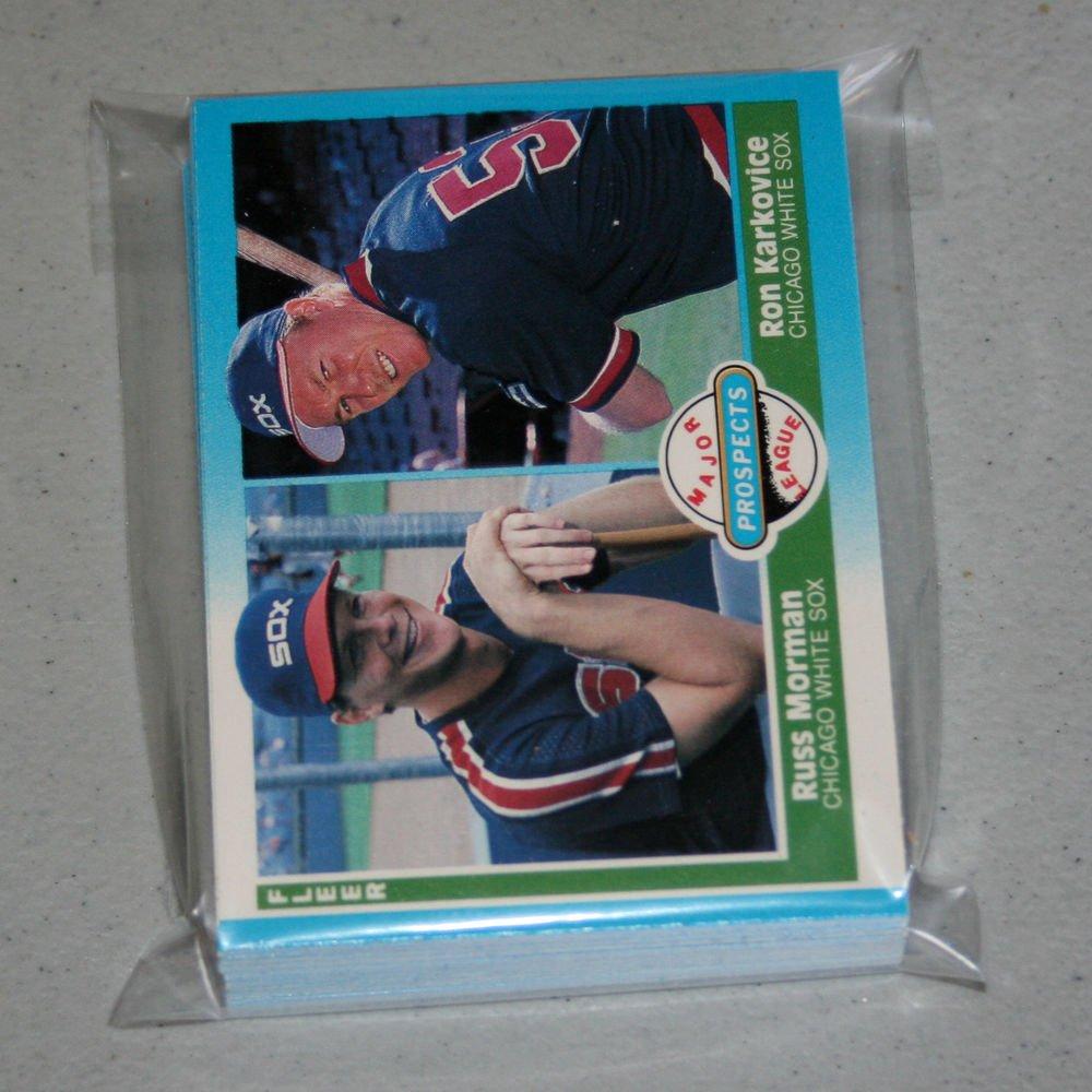 1987 FLEER BASEBALL - Chicago White Sox Team Set + Update Series