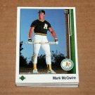 1989 UPPER DECK BASEBALL - Oakland Athletics Team Set + High Number Series