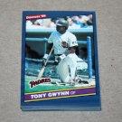 1986 DONRUSS BASEBALL - San Diego Padres Team Set