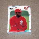 1988 FLEER BASEBALL - St. Louis Cardinals Team Set + Update Series