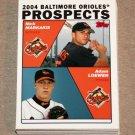 2004 TOPPS BASEBALL - Baltimore Orioles Team Set (Series 1 & 2)