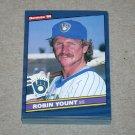 1986 DONRUSS BASEBALL - Milwaukee Brewers Team Set