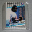 1989 FLEER BASEBALL - Atlanta Braves Team Set + Update Series