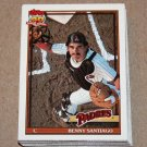 1991 TOPPS BASEBALL - San Diego Padres Team Set + Traded Series