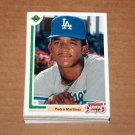 1991 UPPER DECK BASEBALL - Los Angeles Dodgers True Team Set (Low/High/Final)