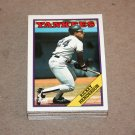 1988 TOPPS BASEBALL - New York Yankees Team Set + Traded Series