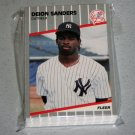 1989 FLEER BASEBALL - New York Yankees Team Set + Update Series