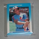 1987 FLEER BASEBALL - Montreal Expos Team Set + Update Series