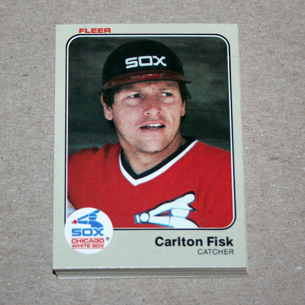 1983 FLEER BASEBALL - Chicago White Sox Team Set