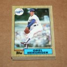 1987 TOPPS BASEBALL - Los Angeles Dodgers Team Set + Traded Series