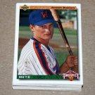 1992 UPPER DECK BASEBALL - New York Mets Team Set + High Number Series