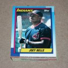 1990 TOPPS BASEBALL - Cleveland Indians Team Set + Traded Series