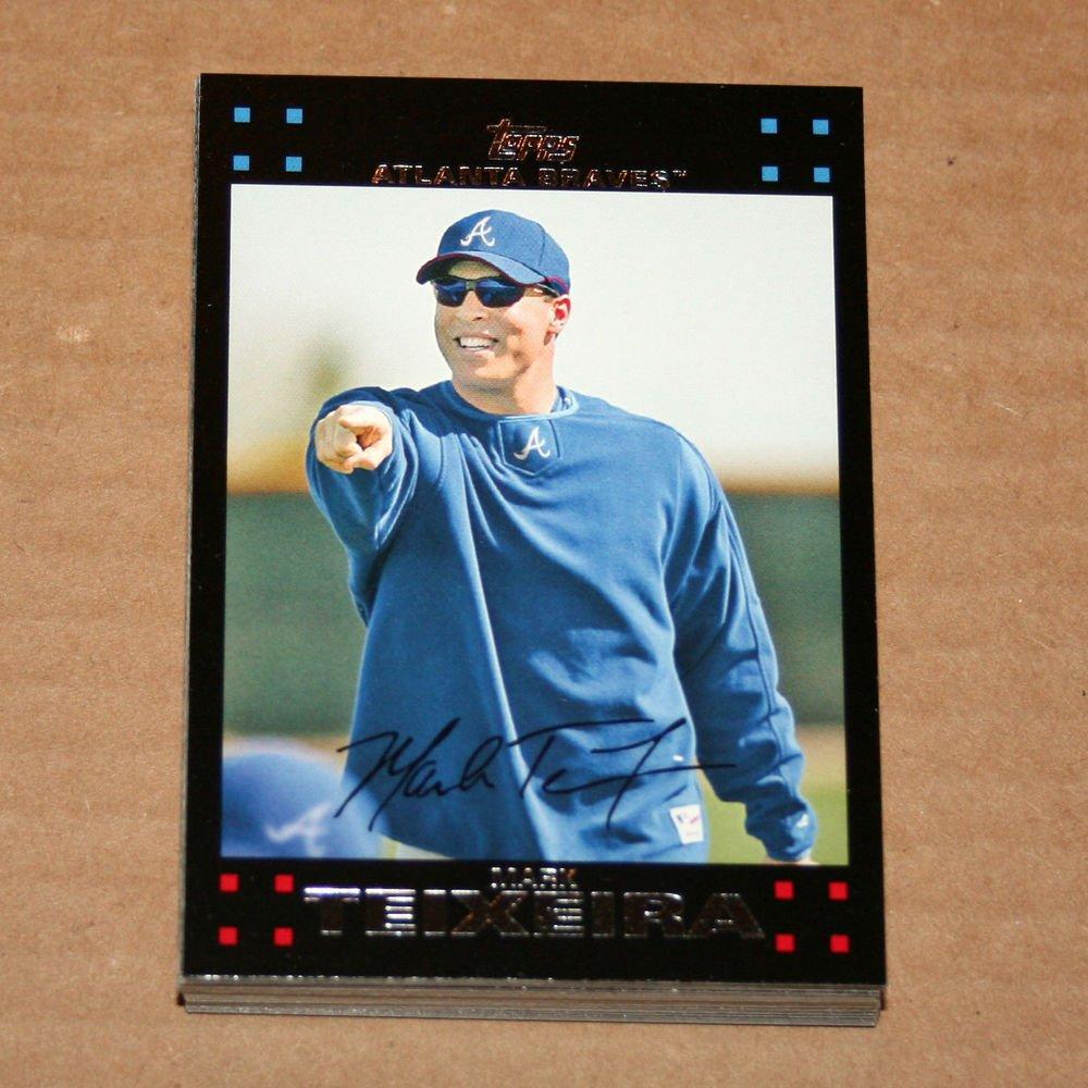 2007 TOPPS BASEBALL - Atlanta Braves True Team Set + Updates & Highlights