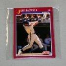 1991 SCORE BASEBALL - Houston Astros Team Set + Rookie & Traded Series