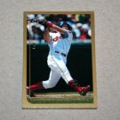 1999 TOPPS BASEBALL - Cleveland Indians True Team Set with Traded Series