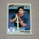 1983 FLEER BASEBALL - Minnesota Twins Team Set