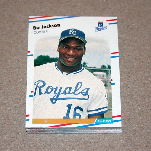 1988 FLEER BASEBALL - Kansas City Royals Team Set