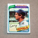 1980 TOPPS BASEBALL - Kansas City Royals Team Set