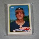 1989 TOPPS BASEBALL - Atlanta Braves Team Set + Traded Series