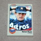 1983 FLEER BASEBALL - Houston Astros Team Set