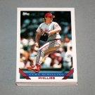1993 TOPPS BASEBALL - Philadelphia Phillies Team Set (Series 1 & 2)