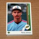 1989 UPPER DECK BASEBALL - Montreal Expos Team Set + High Number Series