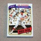 1980 TOPPS BASEBALL - Boston Red Sox Team Set