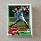1981 TOPPS BASEBALL - Cincinnati Reds Team Set + Traded Series