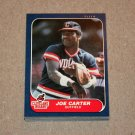 1986 FLEER BASEBALL - Cleveland Indians Team Set + Update Series