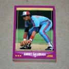 1988 SCORE BASEBALL - Montreal Expos Team Set + Rookie & Traded Series