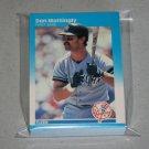 1987 FLEER BASEBALL - New York Yankees Team Set + Update Series