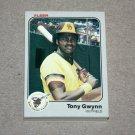 1983 FLEER BASEBALL - San Diego Padres Team Set