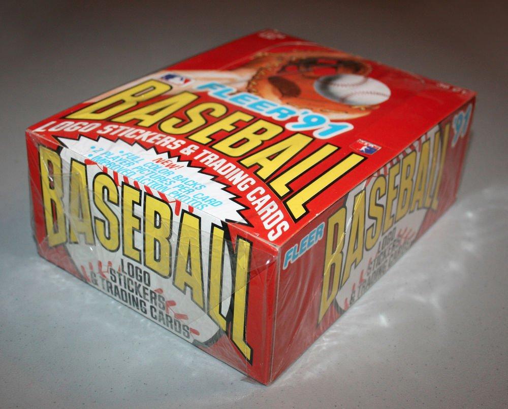1991 FLEER BASEBALL - Factory Sealed Wax Box (36 Packs)