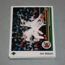 1989 UPPER DECK BASEBALL - California Angels Team Set + High Number Series