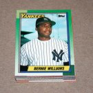 1990 TOPPS BASEBALL - New York Yankees Team Set