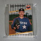 1989 FLEER BASEBALL - Houston Astros Team Set + Update Series